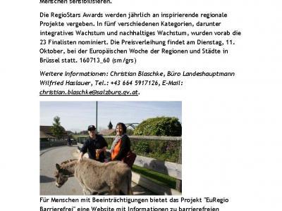 Landeskorrespondenz Salzburg 13.07.2016
