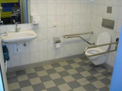Behinderten WC (© NatKo)