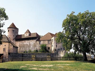 Burg Burghausen Hauptburg mit Bergfried (© Bayerische Schlösserverwaltung www.schloesser.bayern.de)