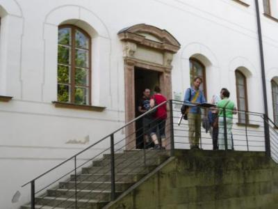 Eingang Augustiner Chorherrenstift (© NatKo)