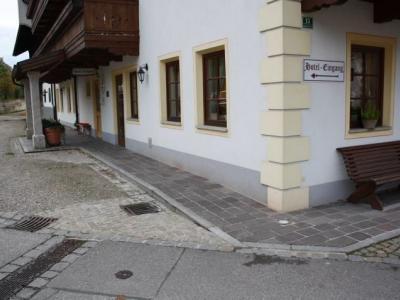 Eingang Schneiderwirt (© NatKo)