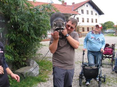 Besuch bei Filmtiere Walter Simbeck (© CLW)