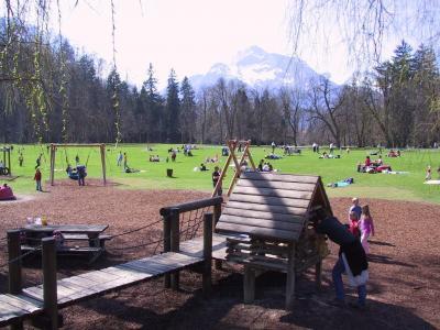 Spielplatz in Hellbrunn ©Schlossverwaltung Hellbrunn