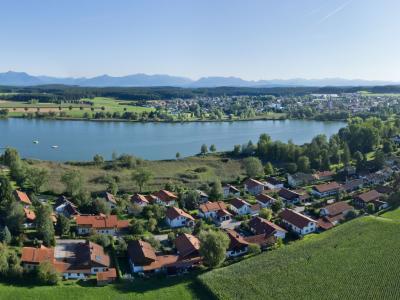 Obing Luftbild Panorama (© Tourist-Information Obing)